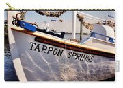 Tarpon Springs Spongeboat Carry-all Pouch by Benjamin Yeager