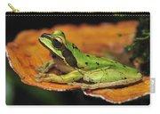 Tarraco Treefrog On Mushroom Costa Rica Carry-all Pouch