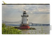 Tarrytown Lighthouse And The Tappan Zee Bridge Carry-all Pouch