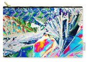 Tartaric Acid Crystals In Polarized Light Carry-all Pouch
