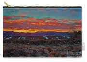 Taos Sunrise Carry-all Pouch