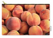 Tasty Peaches Carry-all Pouch by Carol Groenen