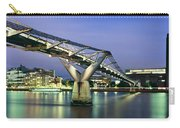 Tate Modern And Millennium Bridge Carry-all Pouch