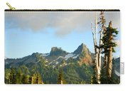 Tatoosh Range In August. Mt Rainier National Park Carry-all Pouch