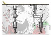 Tattoo Machine Patent Carry-all Pouch by Dan Sproul