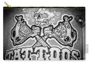 Tattoo Parlor Sign In Rough Neighborhood  Carry-all Pouch