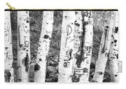 Tattoo Trees Carry-all Pouch
