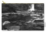 Taughannock Black And White Carry-all Pouch