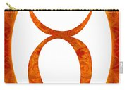 Taurus And Sacral Chakra  Abstract Spiritual Artwork By Omaste W Carry-all Pouch
