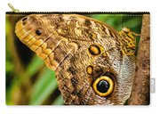 Tawny Owl Butterfly Carry-all Pouch