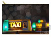 Taxi Signs Carry-all Pouch