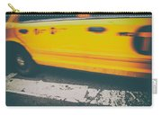 Taxi Taxi Carry-all Pouch by Karol Livote