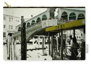Taxi Venice Italy Style Carry-all Pouch