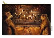 Taxidermy - Home Of The Three Bears Carry-all Pouch