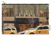 Taxis In The City Carry-all Pouch