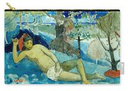 Te Arii Vahine .the Queen Of Beauty Or The Noble Queen. Carry-all Pouch
