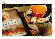 Tea And A Read Carry-all Pouch