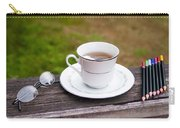 Tea And Art Carry-all Pouch