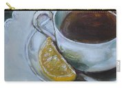 Tea And Lemon Carry-all Pouch