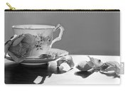 Tea And Roses Still Life Carry-all Pouch