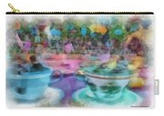 Tea Cup Ride Fantasyland Disneyland Pa 01 Carry-all Pouch