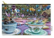 Tea Cup Ride Fantasyland Disneyland Carry-all Pouch by Thomas Woolworth
