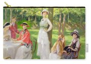 Tea In The Garden Carry-all Pouch