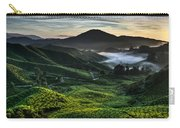 Tea Plantation At Dawn Carry-all Pouch