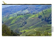 Tea Plantation In The Cameron Highlands Malaysia Carry-all Pouch