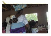 Teacher Backing Her Baby  Carry-all Pouch