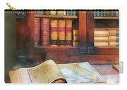 Teacher - Geography Book Carry-all Pouch by Susan Savad