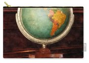 Teacher - Globe On Piano Carry-all Pouch
