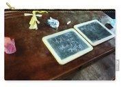 Teacher - School Slates Carry-all Pouch