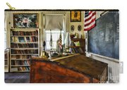 Teacher - Vintage Desk Carry-all Pouch