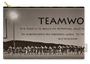 Teamwork Carry-all Pouch by Lori Deiter