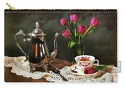 Tea'n Tulips Carry-all Pouch