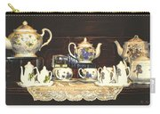 Teapots On Grundge Carry-all Pouch