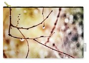 Teardrops Of The Nature Carry-all Pouch