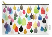 Tears Of An Artist Carry-all Pouch by Linda Woods