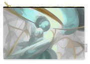 Teary Dreams Pastel Abstract Carry-all Pouch