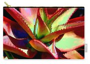 Technicolored Agave Succulent Carry-all Pouch