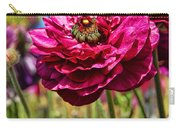 Tecolote Ranunculus Flowers By Diana Sainz Carry-all Pouch