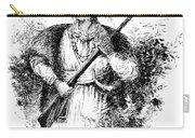 Tecumseh, Shawnee Indian Leader Carry-all Pouch
