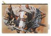 Ted And Tom Carry-all Pouch by Kim Lockman