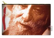 Ted Degrazia Portrait By Henry Redl Circa 1980-2013 Carry-all Pouch