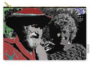 Ted  Degrazia  Singer Sammi Smith  Dick Frontain Photo Gallery In The Sun Tucson Arizona C.1977-2013 Carry-all Pouch