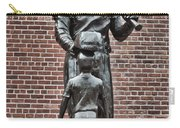Ted Williams Statue - Boston Carry-all Pouch by Joann Vitali