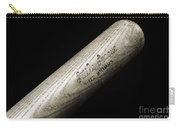 Ted Williams Little League Baseball Bat Bw Carry-all Pouch by Andee Design