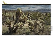 Teddy Bear Cholla Cactus In California 0251 Carry-all Pouch