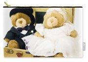 Teddy Bear Honeymoon Carry-all Pouch